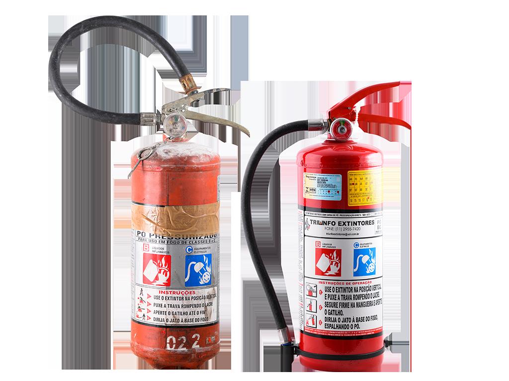 Triunfo - Recarga de Extintores - Manutenção