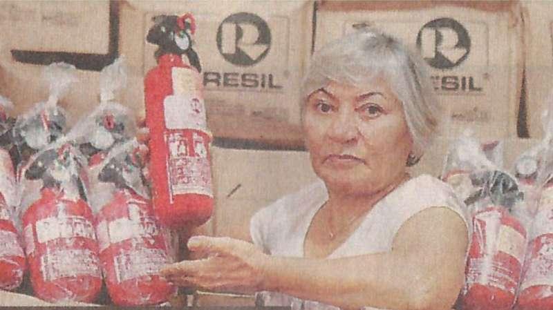 Exintor ABC para Carro - Maria Diniz
