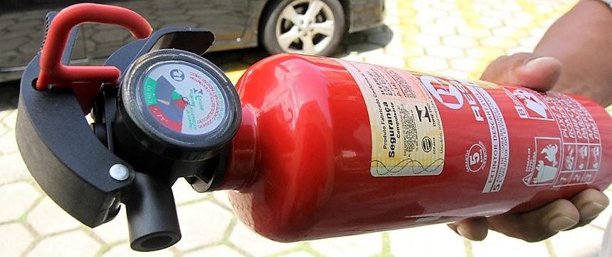 Extintor de Incêndio Modelo ABC Pode Voltar a Ser Obrigatório