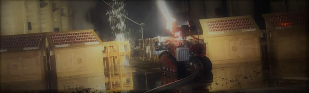 Robô Colossus ajudou a salvar a Catedral de Notre-Dame